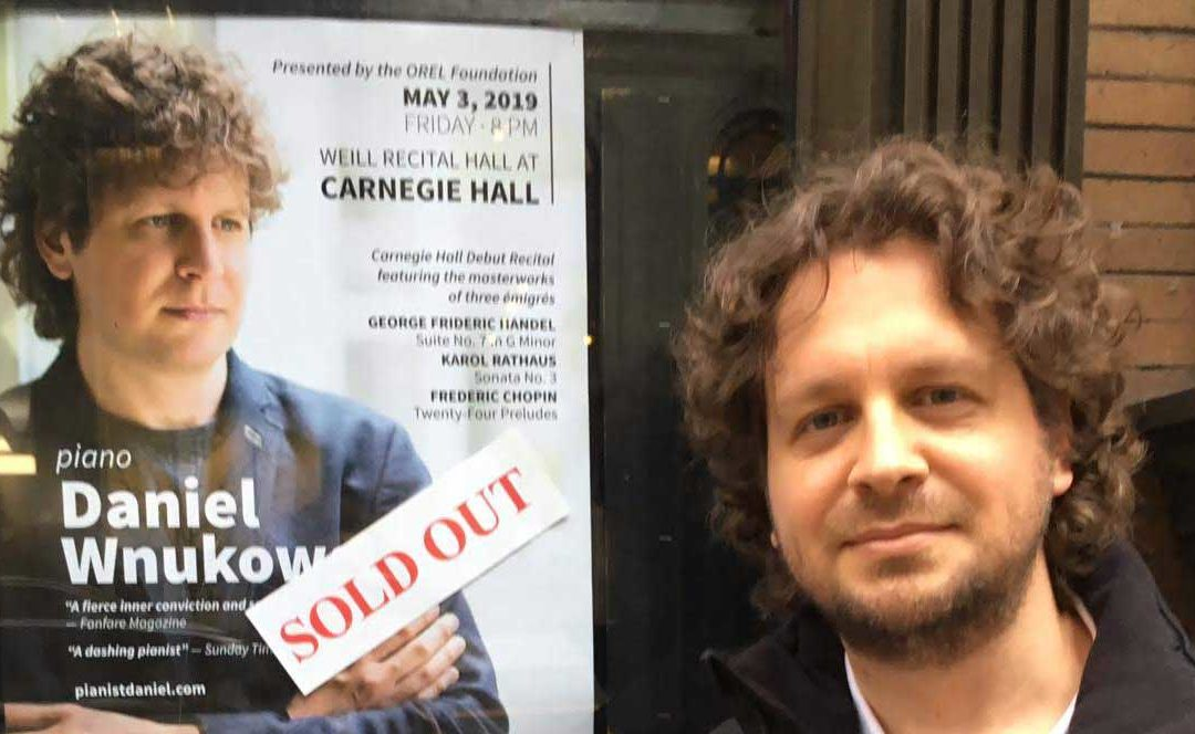 Sold-out Carnegie Hall Recital